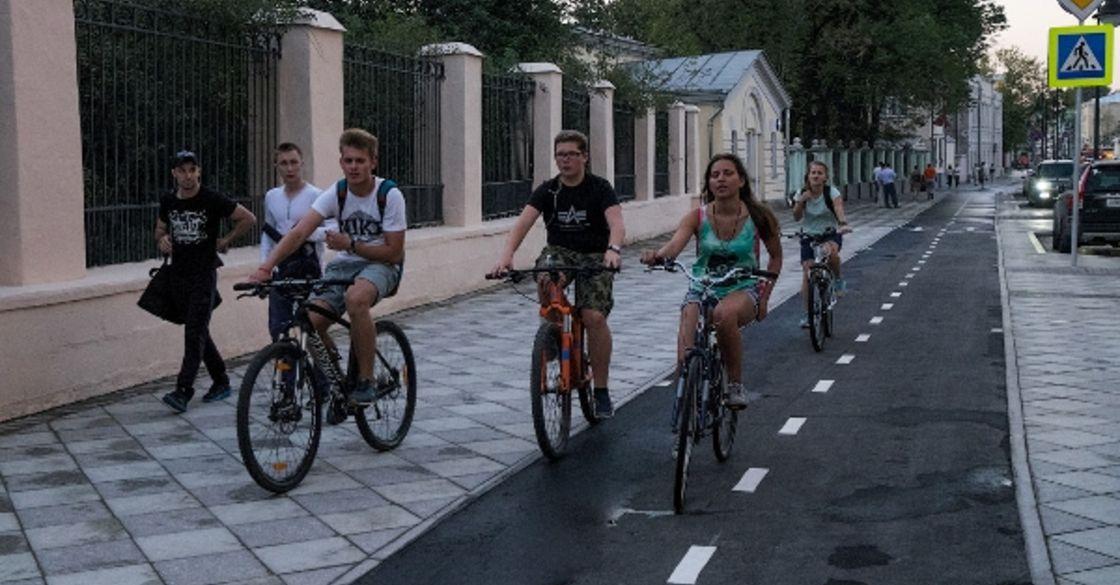 Где покататься на велосипеде в москве маршруты схема