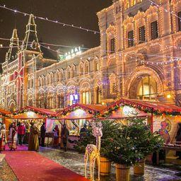 Рождественская ГУМ-ярмарка, фестиваль «Эскимо-фест» и еще 13 бесплатных событий