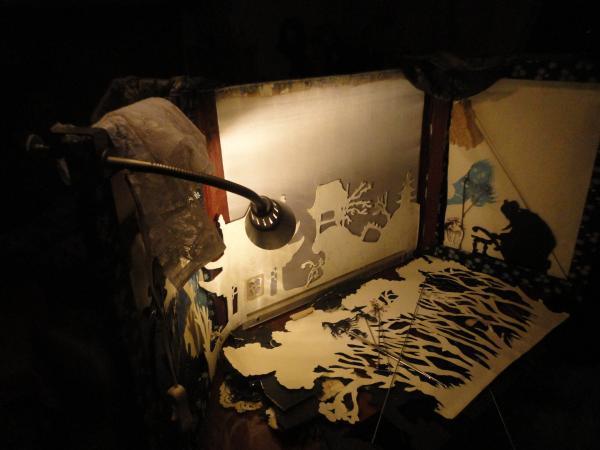 Как сделать домашний театр теней в домашних условиях