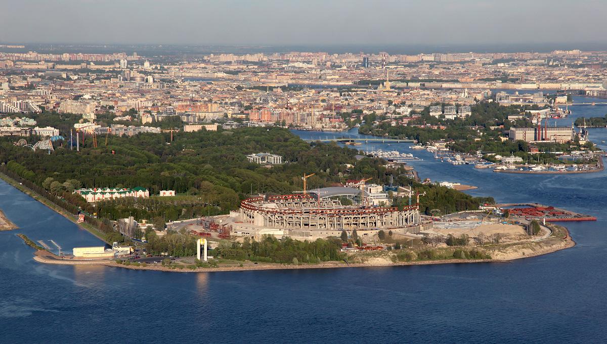 Крестовский остров - апартаменты и недвижимость