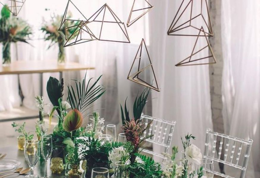 Фото №3 — Geometric Wedding Workshop