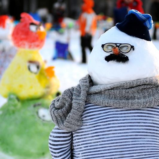 Столица детства конкурс снеговиков