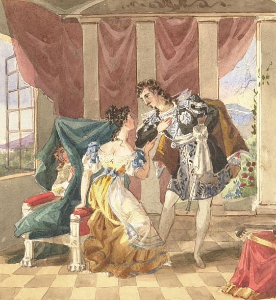 Картина к свадьбе фигаро