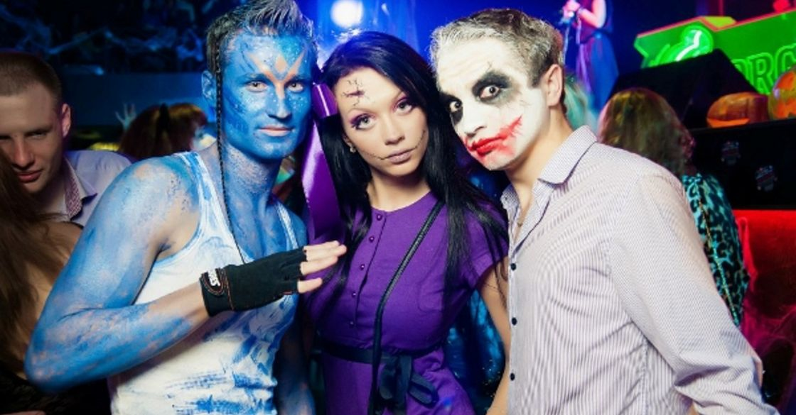 Хэллоуин в клубе #1