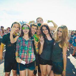 Фестиваль красок «Мегахоли»