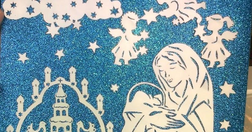 Шаблоны на рождественскую открытку