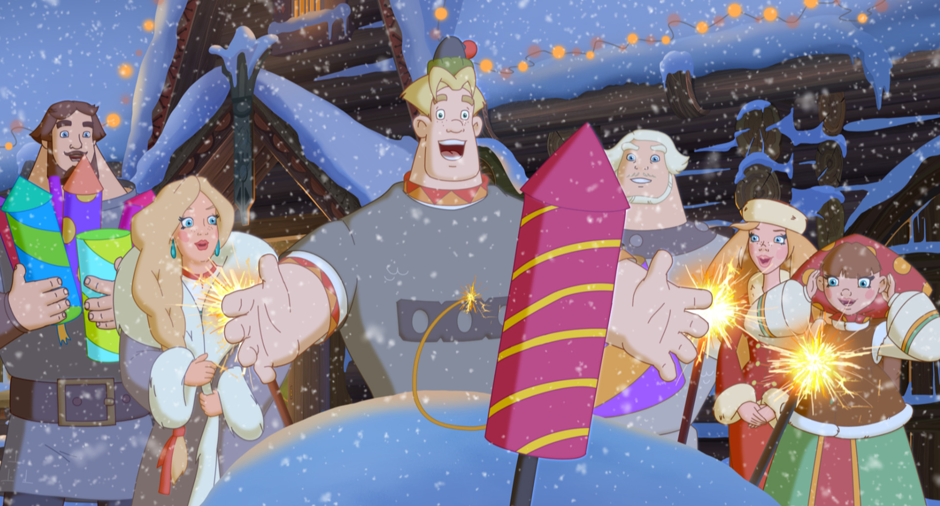 Премьеры мультфильмов к новому году