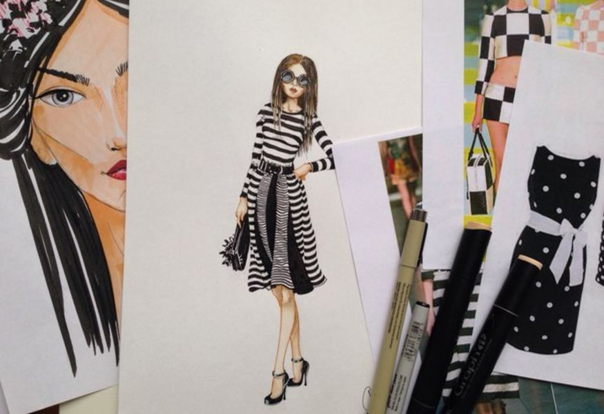 Фото №1 — Fashion-sketch