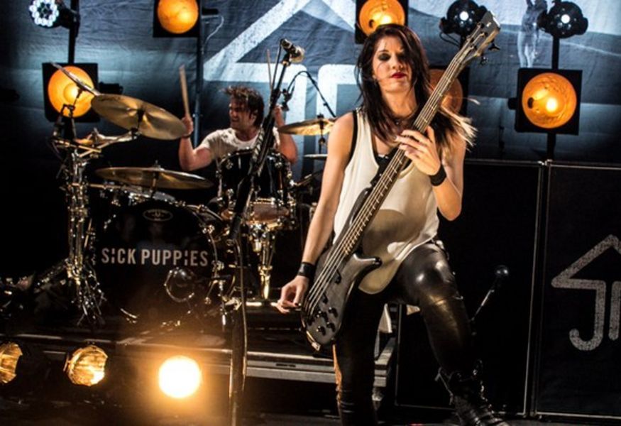 Фото №3 — Концерт группы Sick Puppies