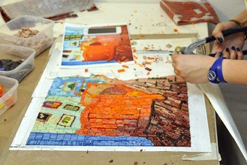 Обучение мастер классы по мозаики