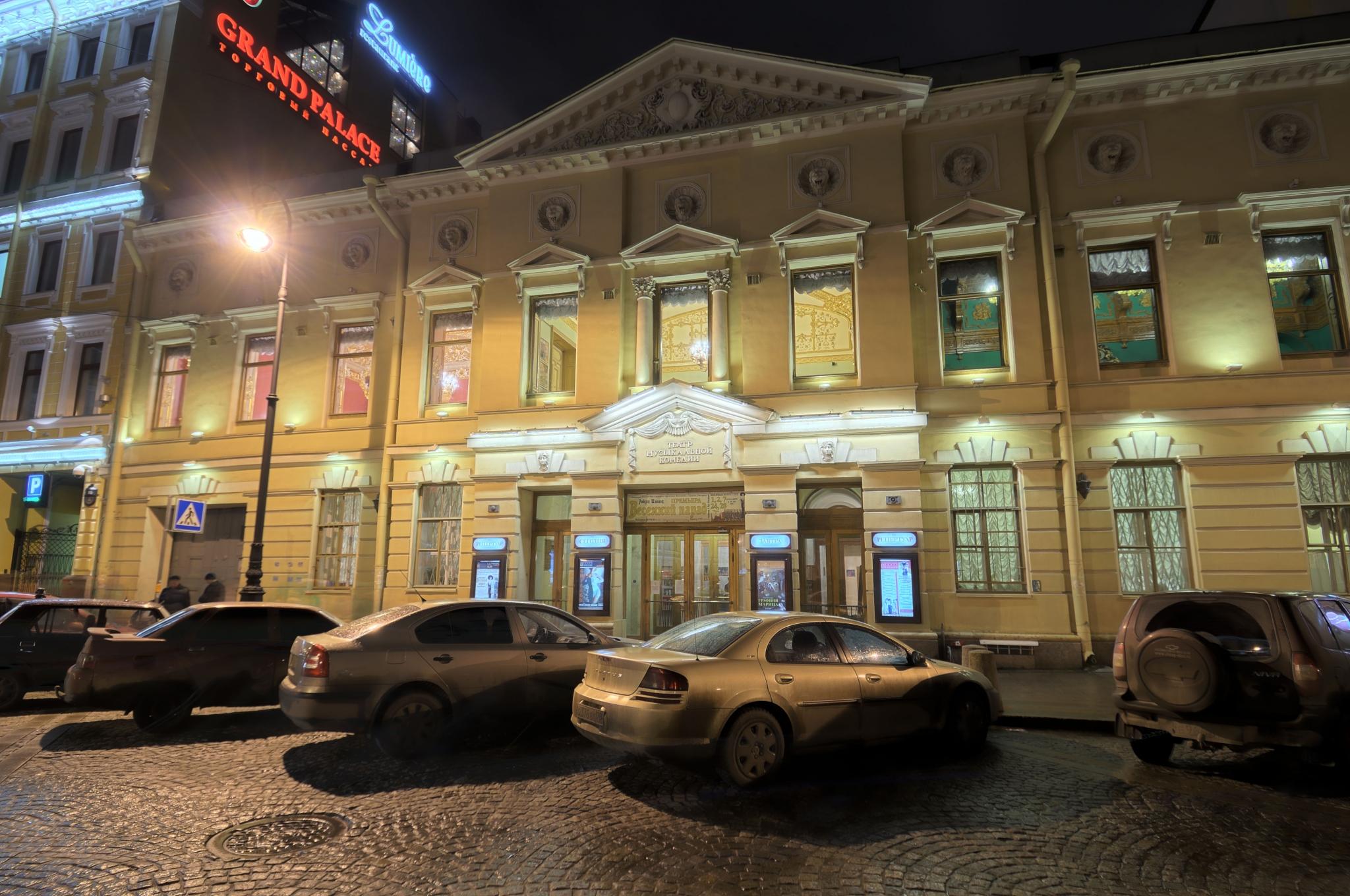 спб схема входа в эрмитажный театр