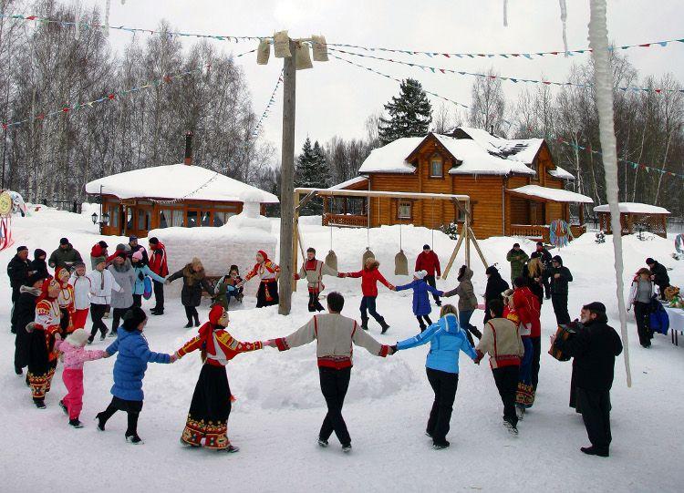 проводы русской зимы