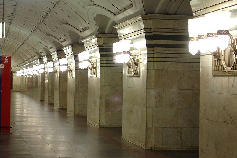 Карта (схема) метро Самары.  Спортивная.  Пушкинская может быть закрыта в 2013 году.