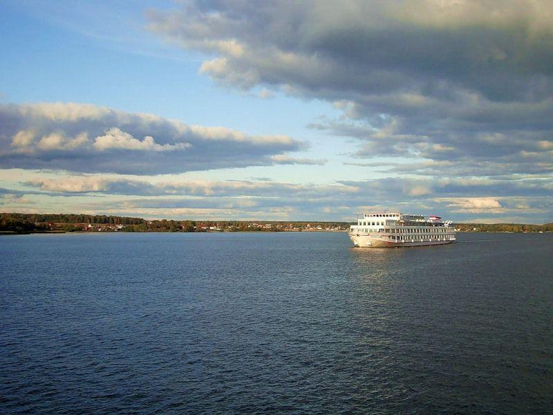 Россия реки/озера   ландшафты Клязьминское водохранилище