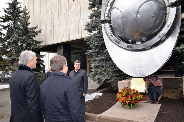 Памятник отечественному спутнику «Бион»