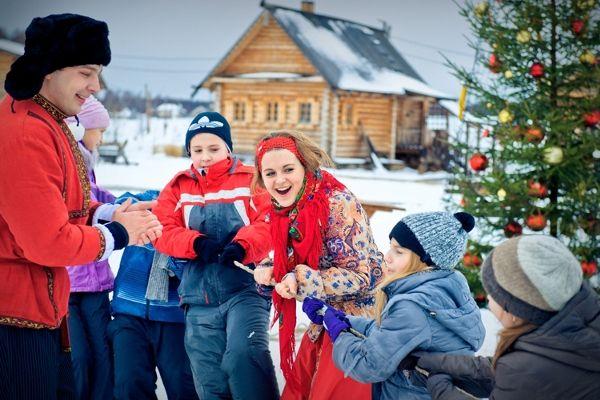 Рождественская ярмарка в «Этномире»