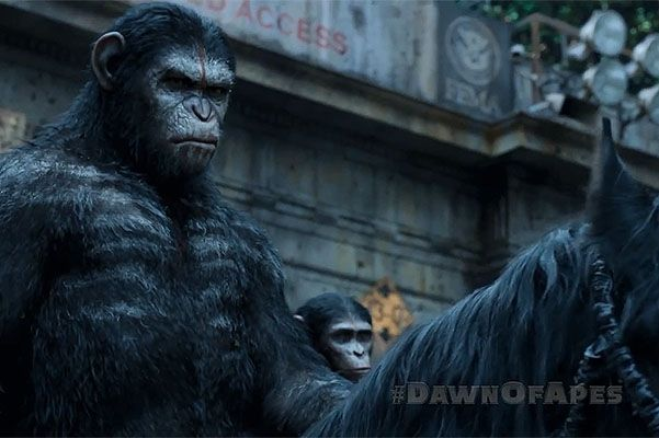 планета обезьян революция фильмы смотреть онлайн
