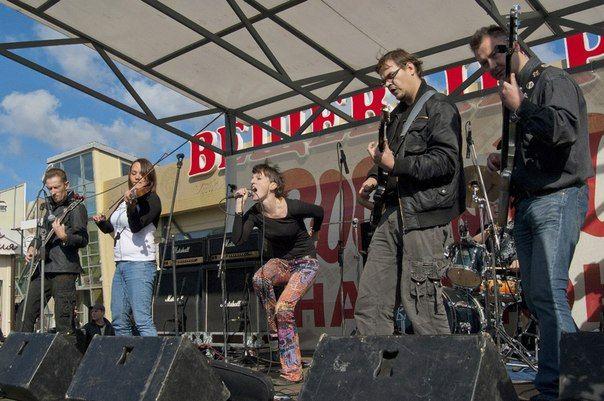 Рок-фестиваль на «Юноне»