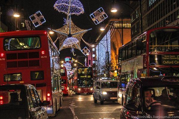 Московские улицы украсят как центр Лондона