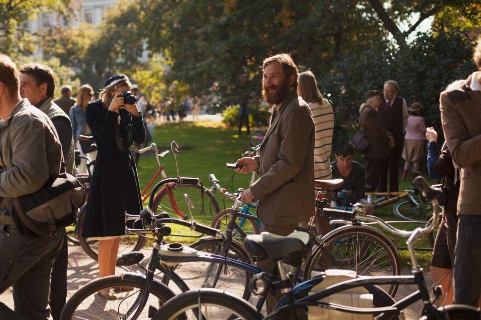 Твидовая велопрогулка «Ситцевое чаепитие»