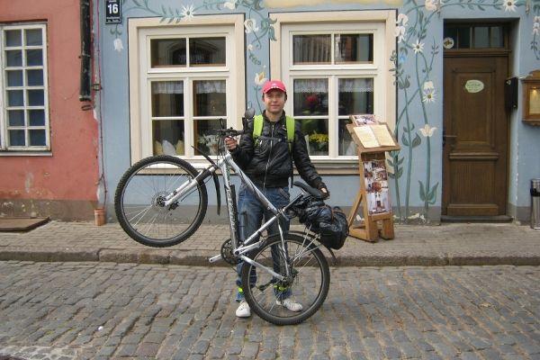 Руслан Алексеев, руководитель велоклуба «М.А.О.»