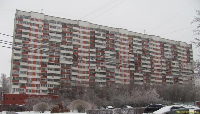 Дом 125 на проспекте Вернадского