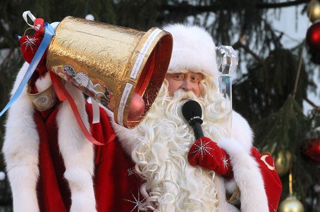 Встреча главного Деда Мороза