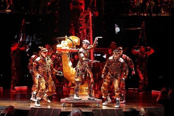 Шоу Dralion от Cirque du Soleil