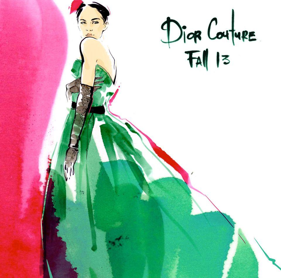 Мастер-класс «Секреты успешных fashion иллюстраций» 16 ноября 2013
