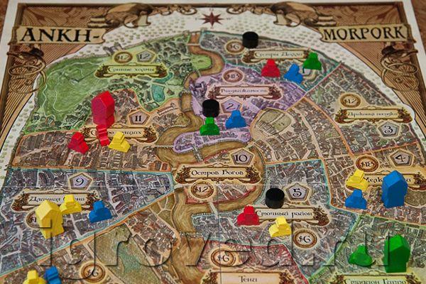Игра «Плоский мир: Анк-Морпорк»