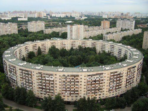 Дом-кольцо в Москве
