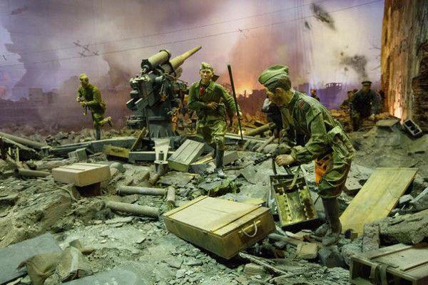 Трехмерная панорама «Битва за Берлин. Подвиг знаменосцев»