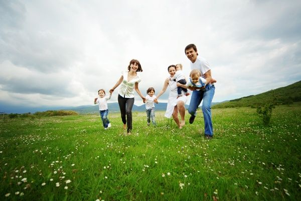 Семья - вот истинное счастье!