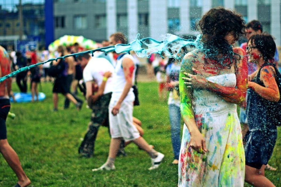 Королевский фестиваль красок