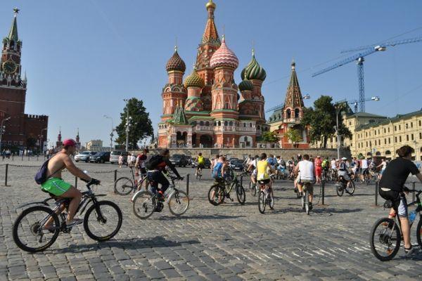 Велоклуб «М.А.О.», велоэкскурсия «Памятники зодчества Москвы»