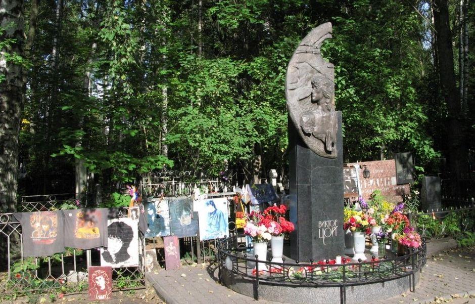 на Богословском кладбище