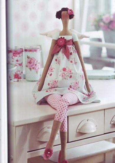 Шьем куклу тильду мастер класс инструкция #8