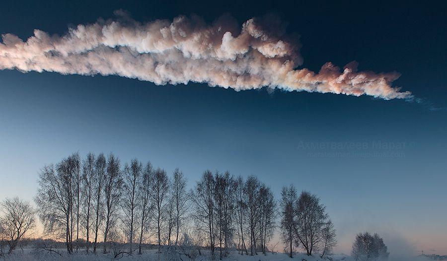 В планетарии расскажут о челябинском метеорите