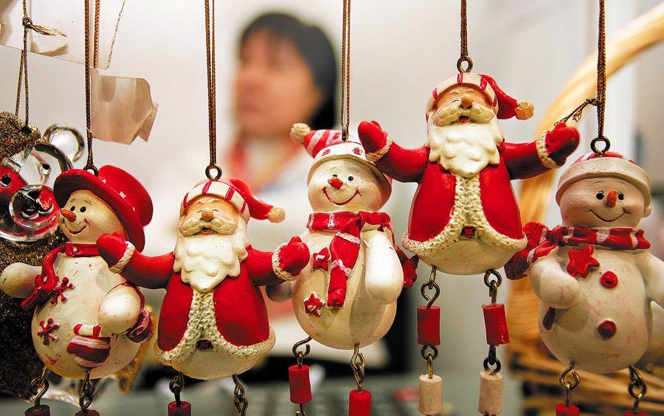 Русская новогодняя игрушка своими руками