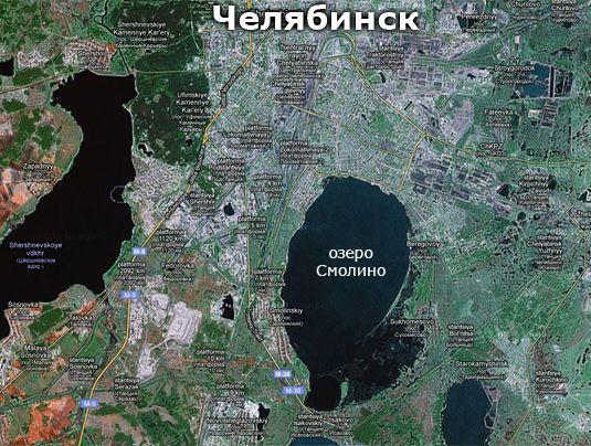 карта ленинский район челябинск со знаком