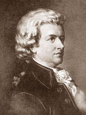 Моцарт возвышенное и земное