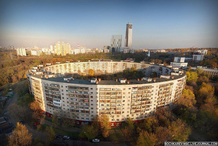 Круглый дом. Москва