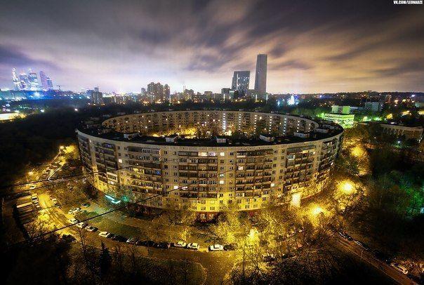 Москва. Дом-кольцо