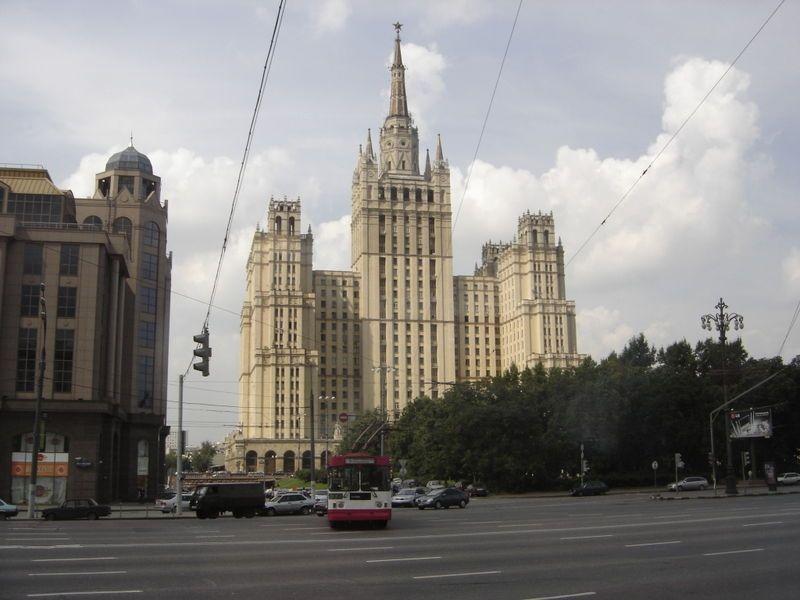 Высотное здание на Кудринской площади