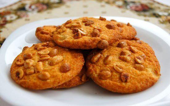 Печенье с арахисом, рецепт