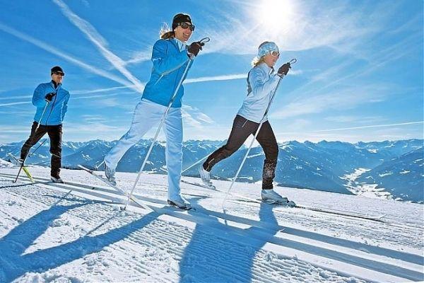 Осваиваем лыжи