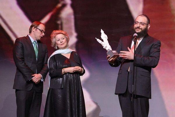 Церемония вручения премии The Art Newspaper Russia