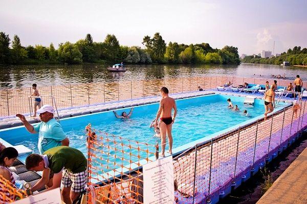 Открытые бассейны в Москве - цены, адреса, отзывы