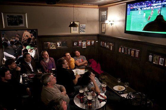 Где посмотреть футбол в Москве?