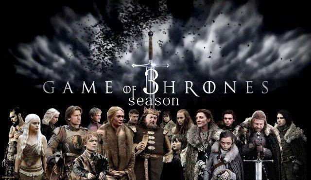 Игра престолов третий сезон